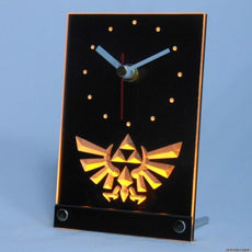 The Legend Of Zelda Triforce LED Desk Clock