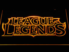 League of Legends LED Sign