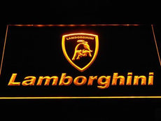 Lamborghini 2 LED Sign