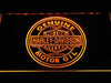 Harley-Davidson Genuine Motor Oil LED Sign