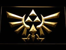 The Legend Of Zelda Triforce LED Sign