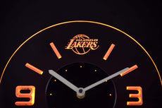 Los Angeles Lakers LED Clock
