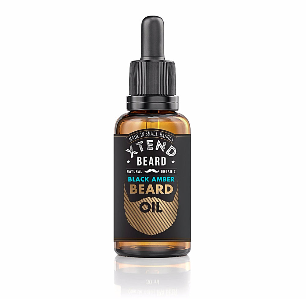 Black Amber Beard Oil - 1oz (30ml)