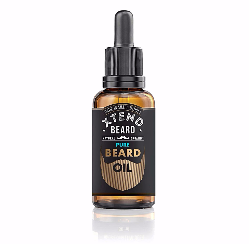 Pure (unscented) Beard Oil - 1oz (30ml)