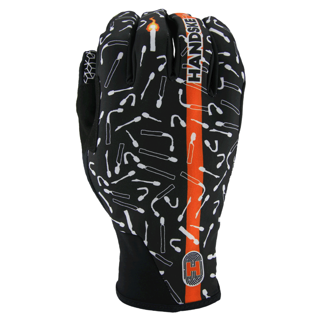 Last Match Black - Windproof Cycling Gloves