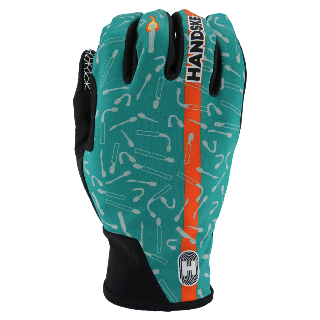Last Match Teal FB - Windproof Cycling Gloves