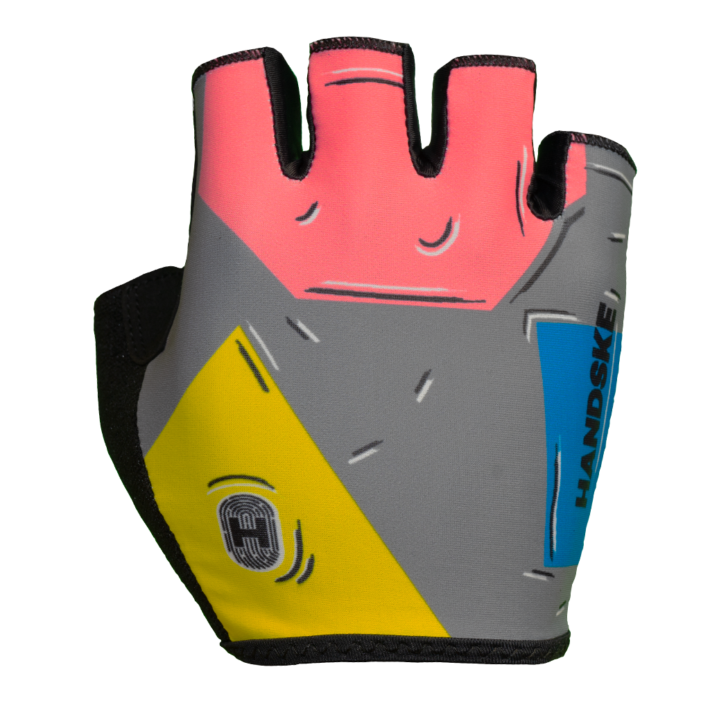 Comic Short Finger Cycling Glove
