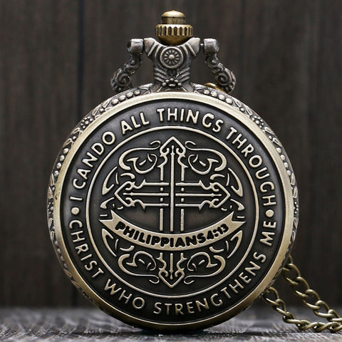 Beautiful Christian Pocket Watch