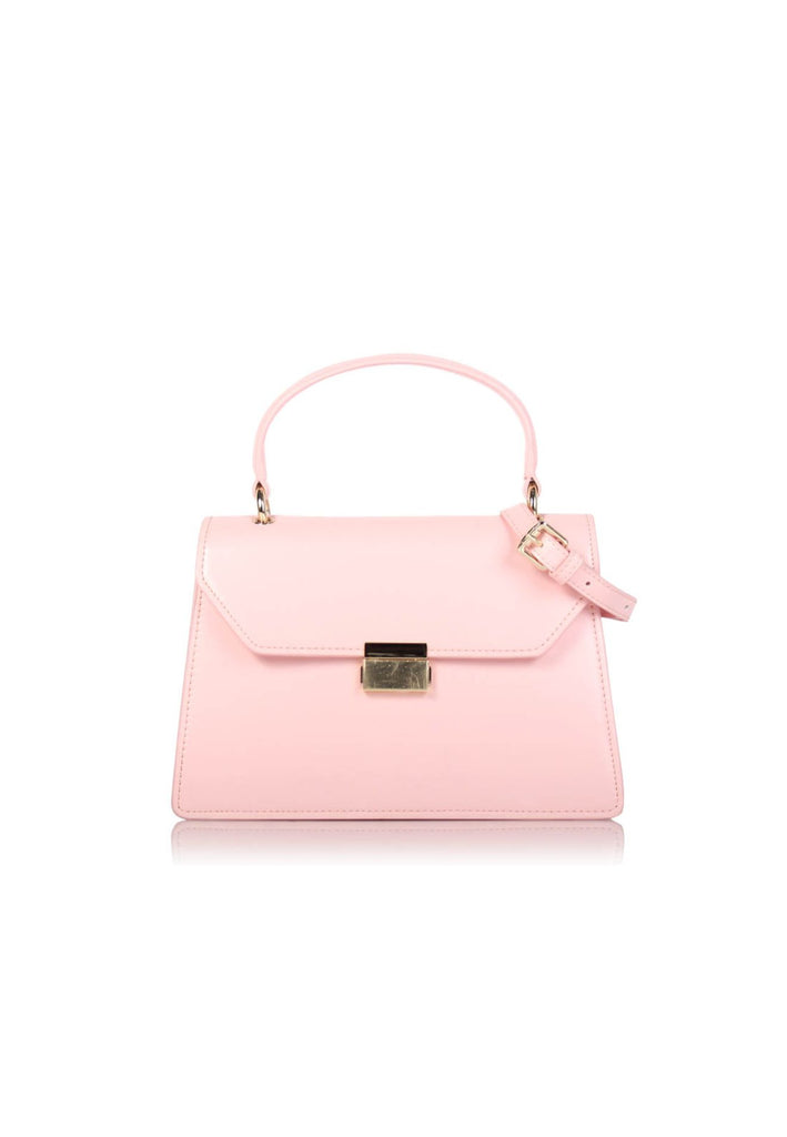 Pink Elegance Top Handle Handbag