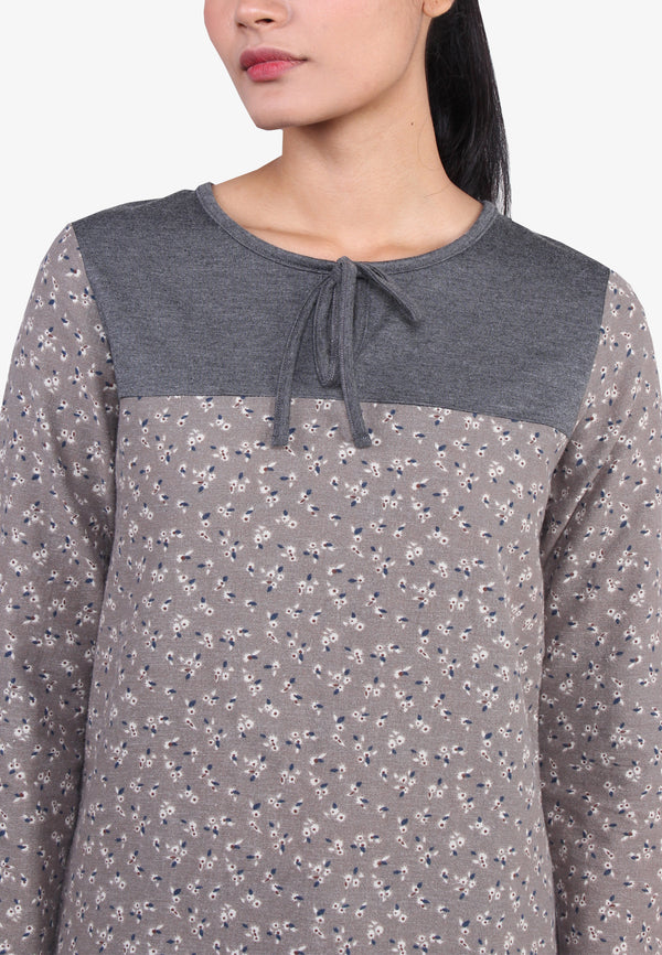 Long Sleeve Long Top
