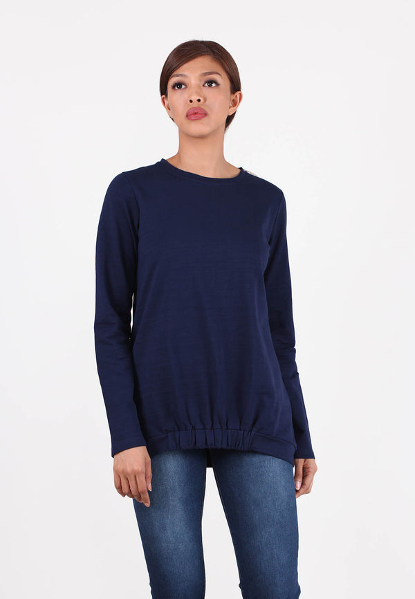 APPLEMINTS Basic Hemline Sweatshirt