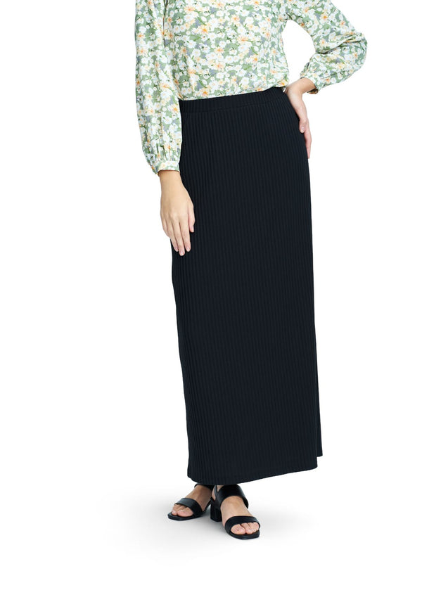 DAISY By VOIR Knitted Maxi Pencil Skirt