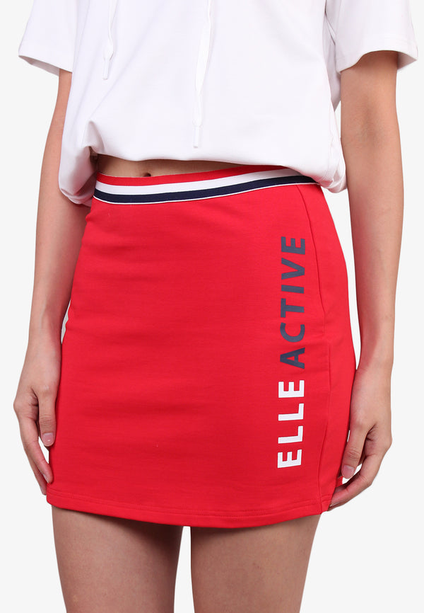 Mid Rise Stretchable Skirt