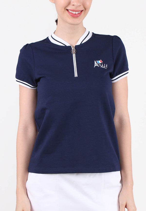 ELLE Active Signature Polo Tee