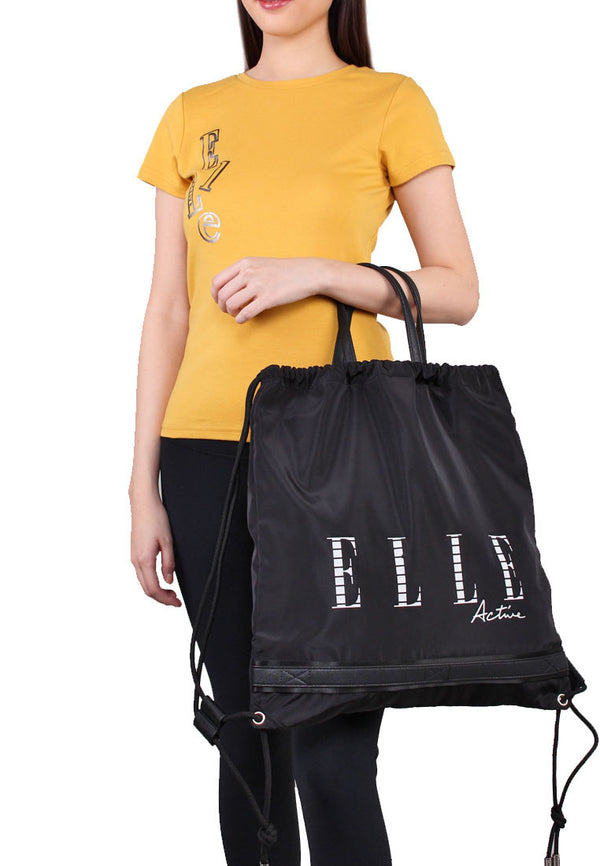 ELLE Active Waterproof Drawstring Backpack