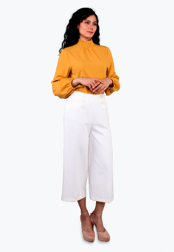 Hi-Waist Wide Leg Pants