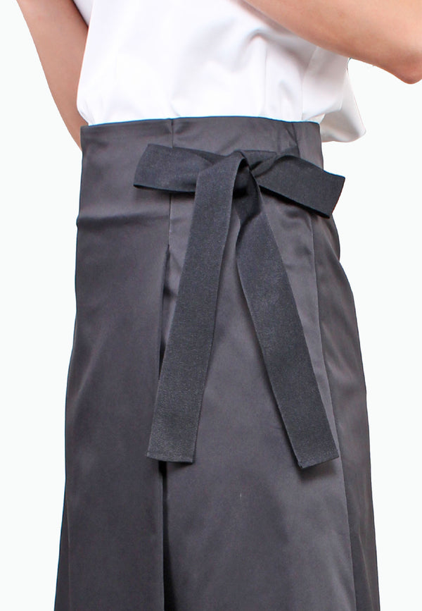 ELLE Waist Ribbon Wrap Skirt