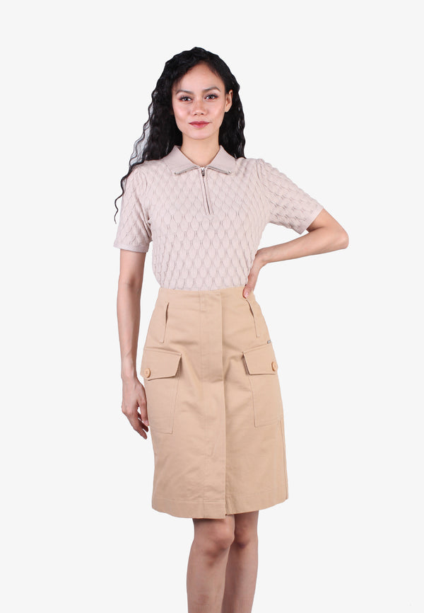 Pockets Military Skirt