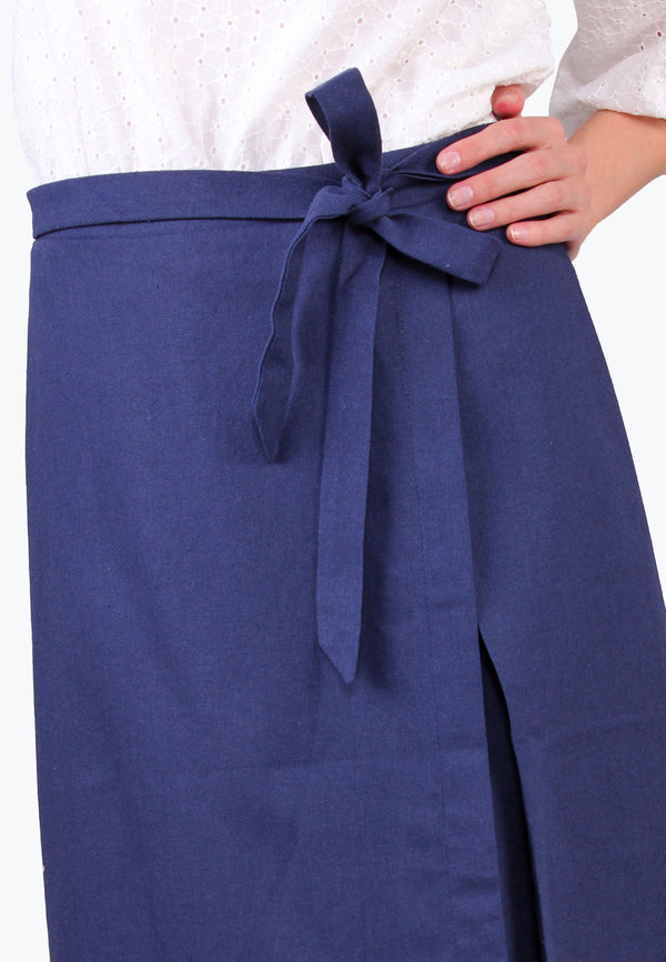ELLE Asymmetrical Wrap Skirt