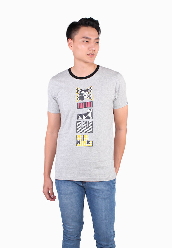Felix The Cat Wording Casual Tee
