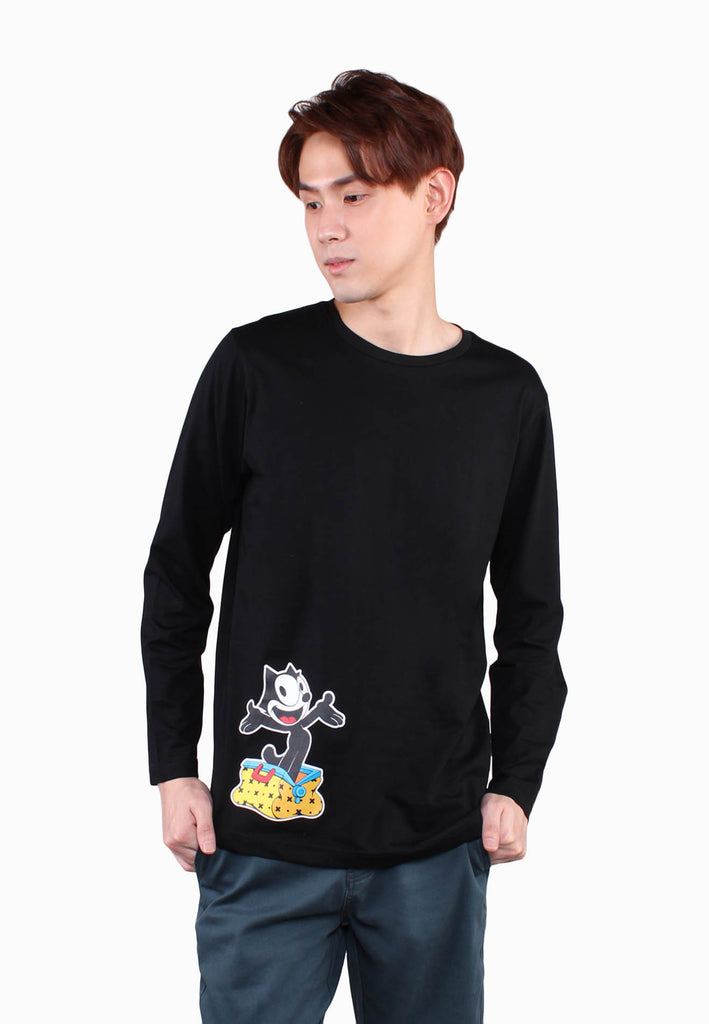 "Men Felix The Cat ""Cat's In The Bag!"" Tee"
