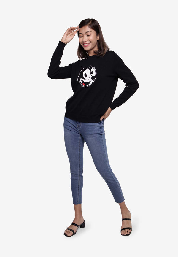 Felix the Cat Long Sleeve Top