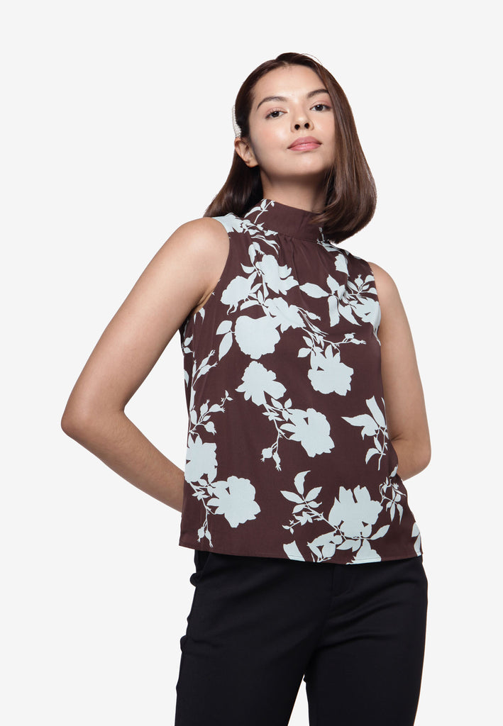 Flower Print Day Tank Top