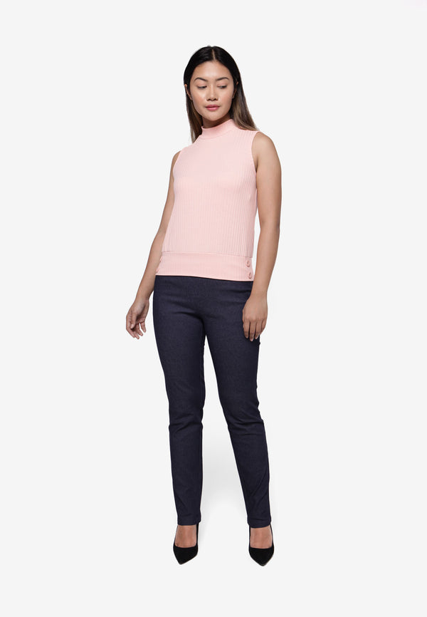 Casual Skinny Legging Pant - Blue