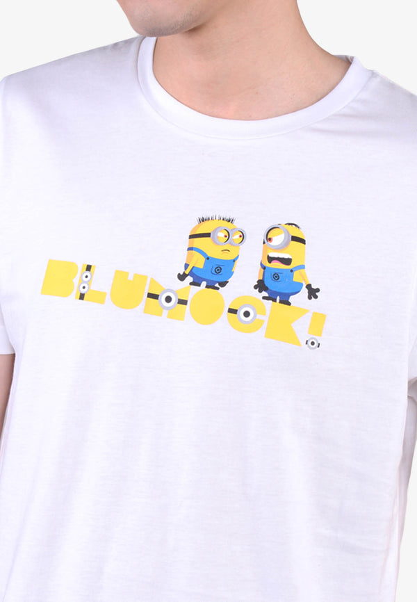 Men Minion Blumock Basic Print Tee