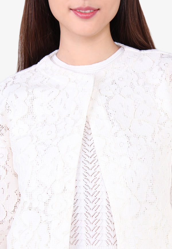 Bishop Sleeve Lace Jacket