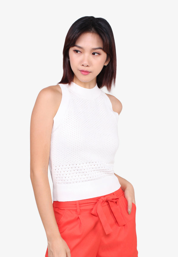 SODA Halter Neck Knit Top