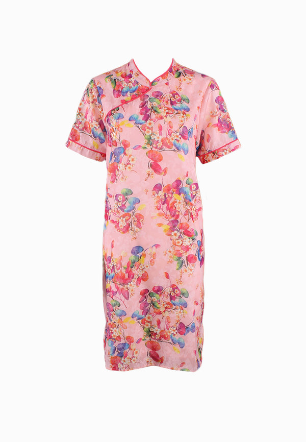 SOUTH CHINA SEA Color of Joy Cheongsam Dress