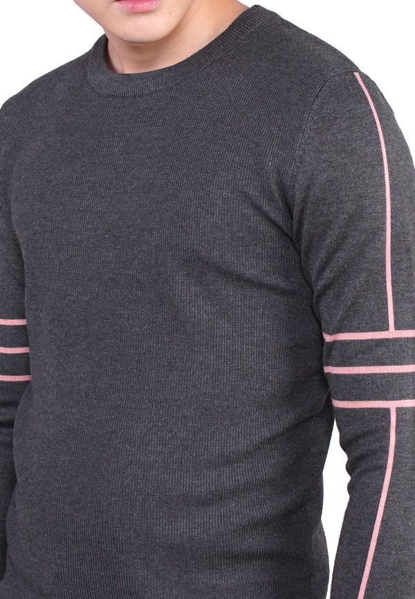 SODA Men Long Sleeves Knit Top