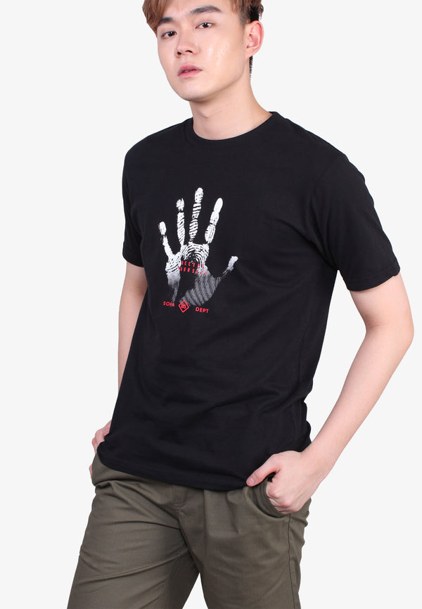 SODA 85 Finger Print T-Shirt