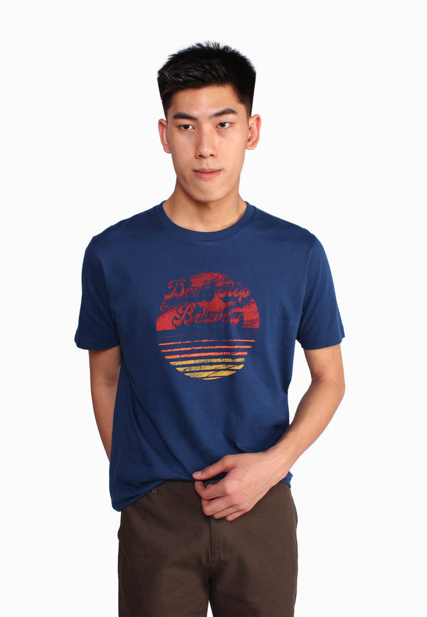 Beach Sunset Simple T-Shirt
