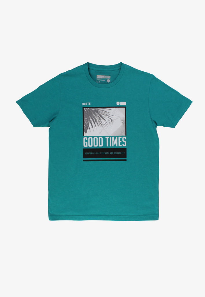 SODA Men ''Good Times'' Print T-Shirt