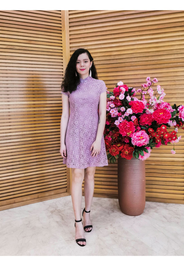 Ruyi by Voir Clothing Lace Cheongsam QiPao Dress