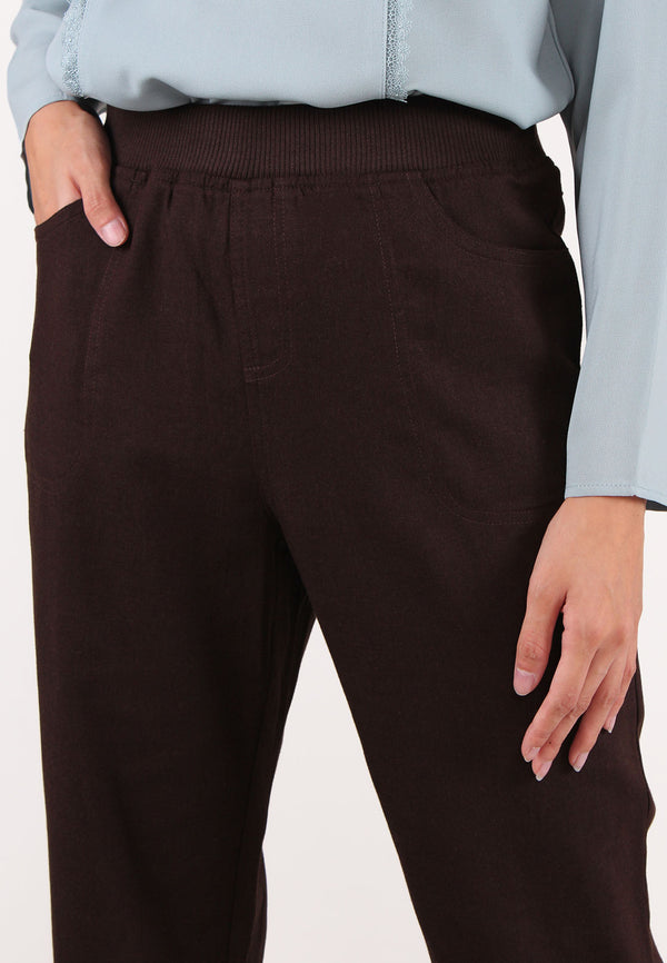 VOIR Exchange Linen Waistband Pants