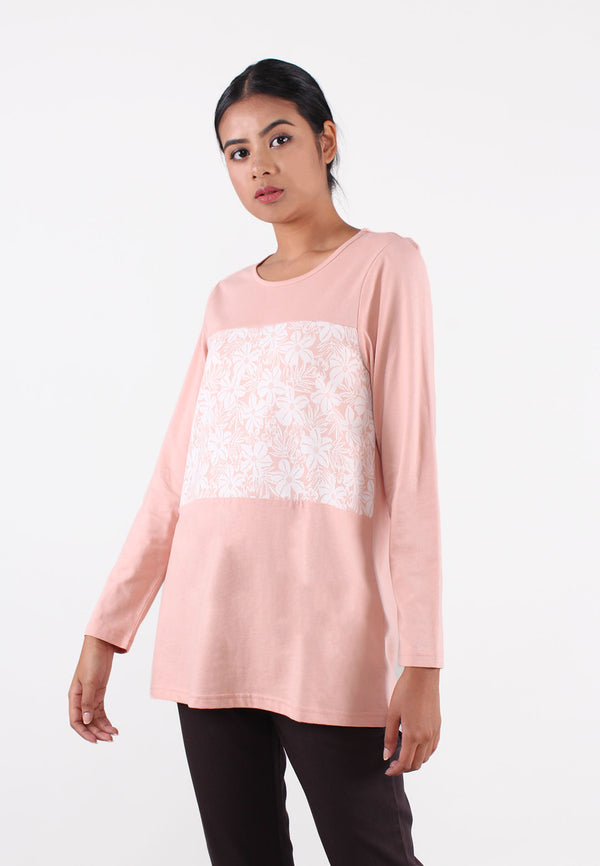 VOIR Exchange Jacquard Mixed  Stocklot Knit Top