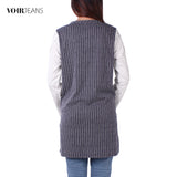 VOIR Ladies Long Sleeve Top Dress VJ103468-A151904