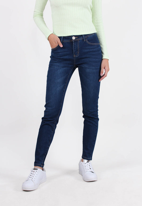 VOIR JEANS #305 Medium Rise Vintage Slim Cut Jeans