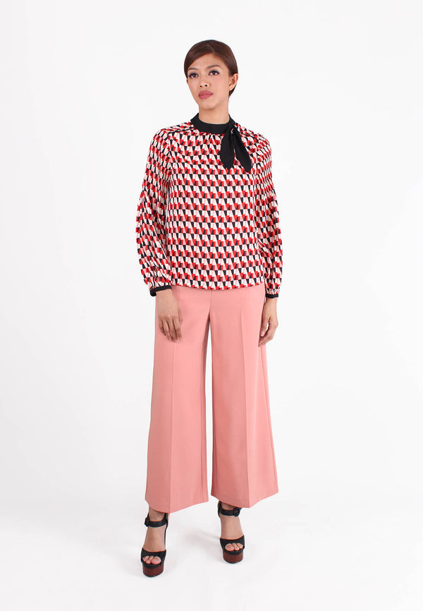 VOIR Executive Wide Leg Pants