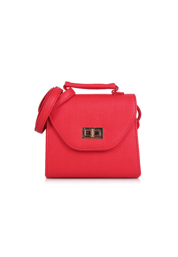 Classic Small Boxy Crossbody Bag