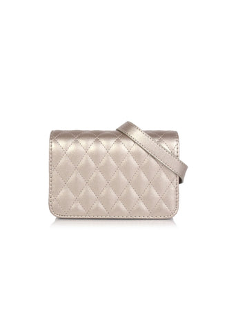 VOIR Quilted Sling Bag with Front Flap Closure VN201304-R031904