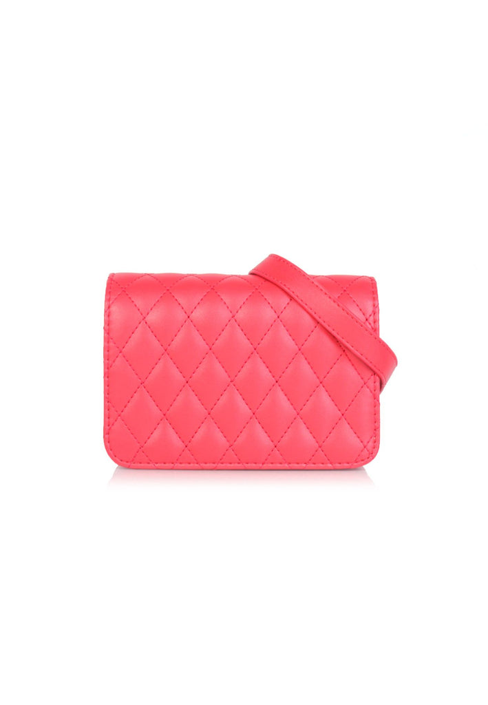 Quilted Crossbody  Flap Bag