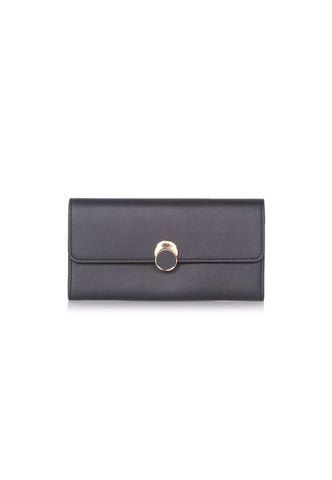 VOIR Long Wallet with Front Flap Detail VN201315-C091905