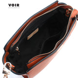 VOIR Casual Mid-Sized Trapeze Bag With Zip Closure VN201337-C031908