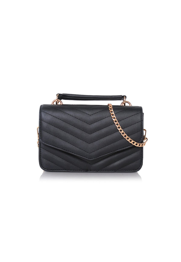 Black Cute Top Handle Bag