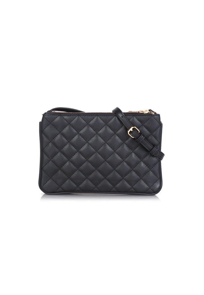 Detachable Quilted Crossbody Bag
