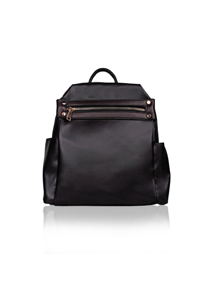 Stylish Backpack with Zipped Closure